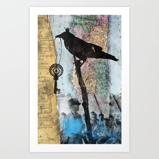 coordinates 5 Art Print