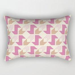 Clover&Nessie  Pink/Sand Rectangular Pillow