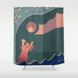 Pinky Moments Shower Curtain
