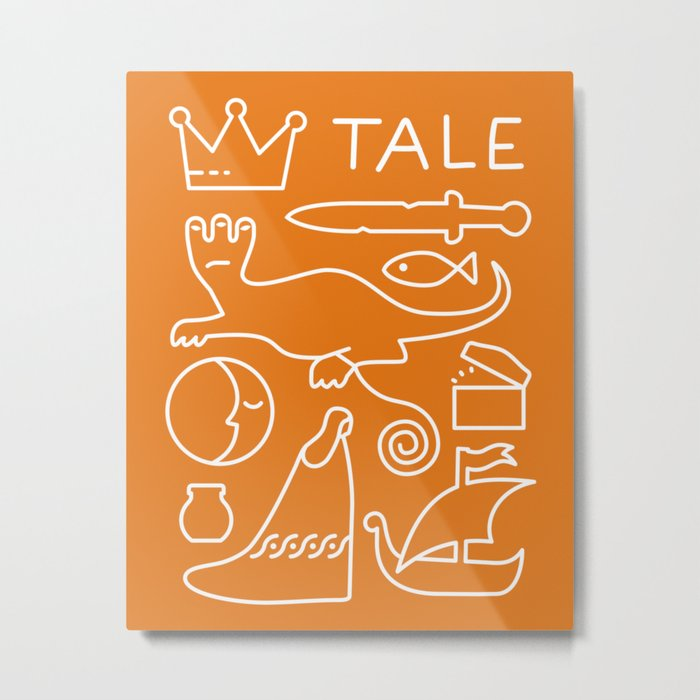 Tale - GD Narrative Metal Print