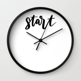 Start Wall Clock