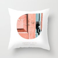 sagittarius Throw Pillows featuring Sagittarius by bialakura