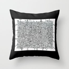 You Are Here #10 Throw Pillow