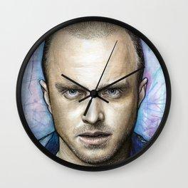 Jesse Pinkman Portrait Wall Clock