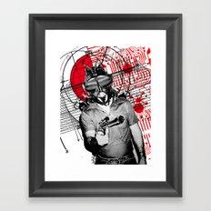 The Spy Framed Art Print