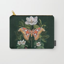 Atlas Moth Magnolia Carry-All Pouch