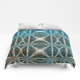 Turquoise Weave Comforters