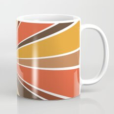 70's Star Burst Coffee Mug