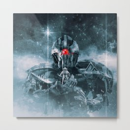 Audience With The Titan Metal Print