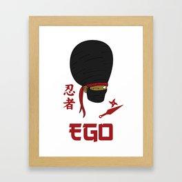 EGO Iga Framed Art Print