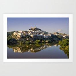 Dusk at Mertola, Portugal Art Print
