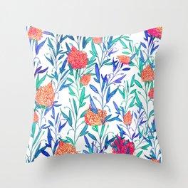 Vibrant Floral #society6 #buyart #decor Throw Pillow