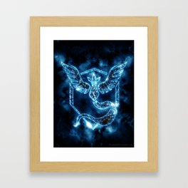 Team Mystic - Articuno Framed Art Print