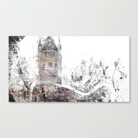london Canvas Prints featuring London by Nicolas Jolly