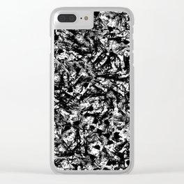 Blotch Clear iPhone Case