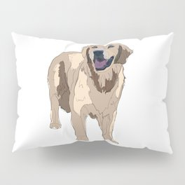 Golden Retriever Pillow Sham