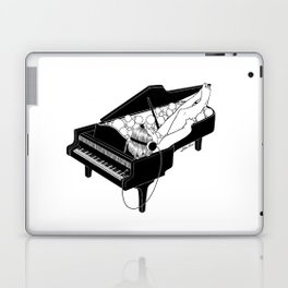 Turn on the music, Turn off your mind Laptop & iPad Skin