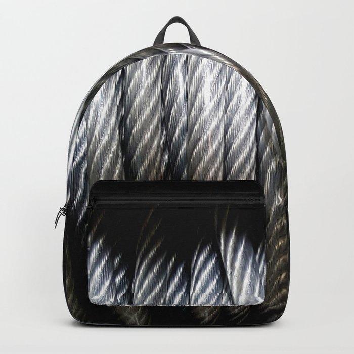 Vinyl Coated Backpack