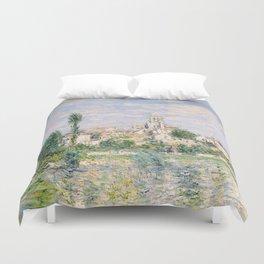 Vetheuil in Summer 1880 by Claude Monet Duvet Cover