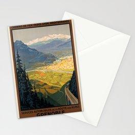 Vintage poster - Grenoble Stationery Cards