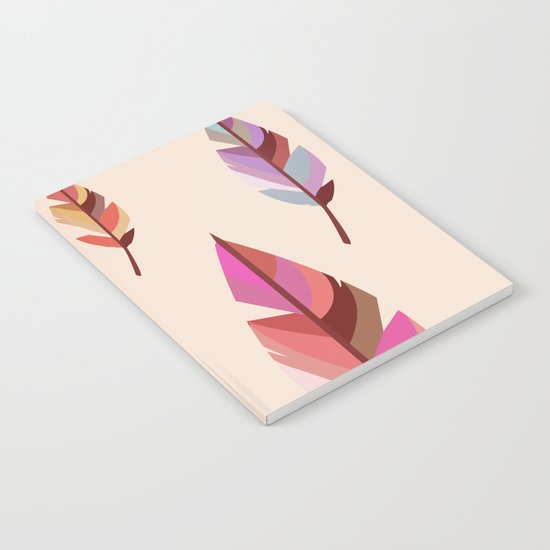 Feathers2 #society6 Notebook