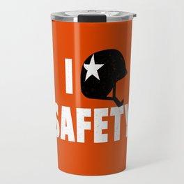 I heart Safety Travel Mug