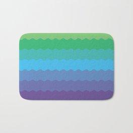 Waves 1 Bath Mat