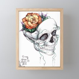 Facial Nerve 7 Framed Mini Art Print