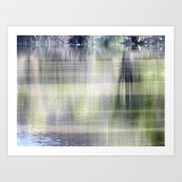 Reflective moments Art Print