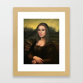 Mona Esperanza - a nobilified creation Framed Art Print