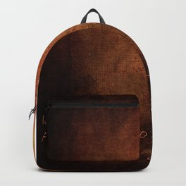 IS THERE A PERFECT WORLD? Backpack