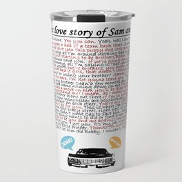 Epic Love Story of Sam and Dean Travel Mug
