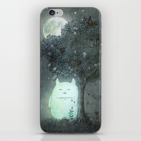 Full Moon Spirit  iPhone & iPod Skin