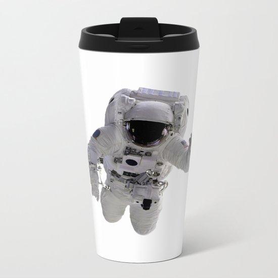 Astronaut Metal Travel Mug
