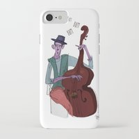 cello iPhone & iPod Cases featuring Smooth Cello by Erin Eng