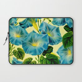 Blue Morning Glories Laptop Sleeve