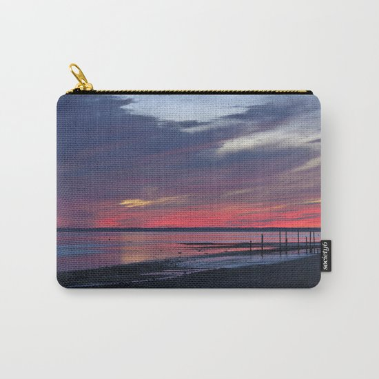 Magic Summer Sunset on the West Coast of DENMARK Carry-All Pouch