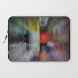 Distorted Fronts Laptop Sleeve