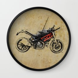 Ducati Monster 796 Wall Clock