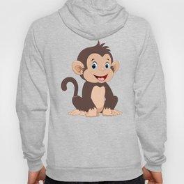 happy little monkey Hoody