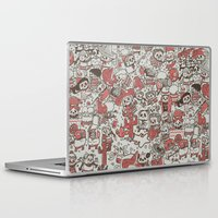waldo Laptop & iPad Skins featuring La Fiesta by Walmazan