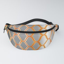 Traditional Japanese pattern AMIME Fanny Pack