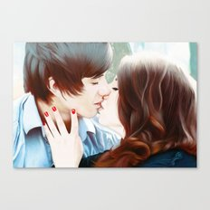 True Love's Kiss Canvas Print