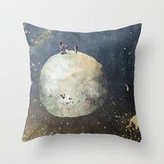 Two astronauts Throw Pillow
