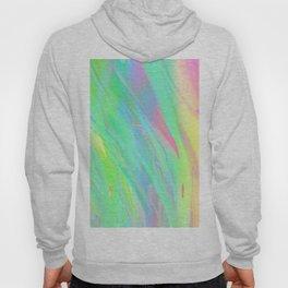 Neon Color Storm: Holographic Aurora Borealis Hoody