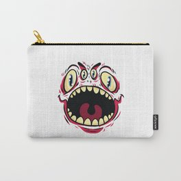 Halloween Monster Face Carry-All Pouch
