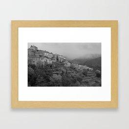 Au coeur des Cevennes Framed Art Print