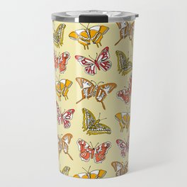 Warm Butterflies Travel Mug