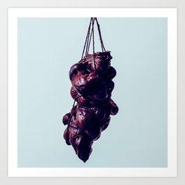 my heart is darkclots Art Print