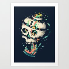Fragile Delusion of Life and Death Art Print
